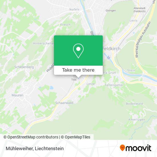 Mühleweiher map