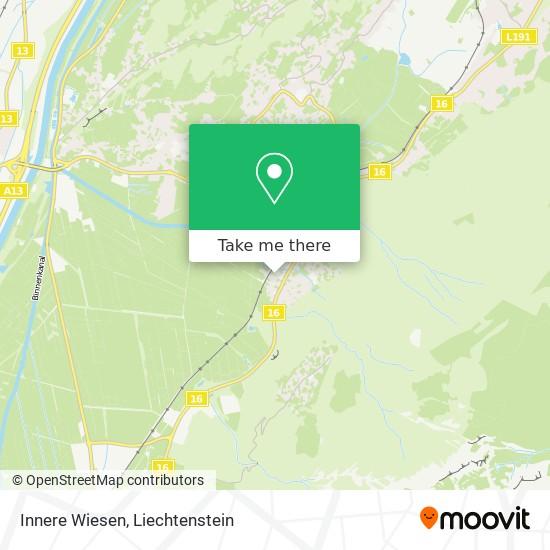 Innere Wiesen map