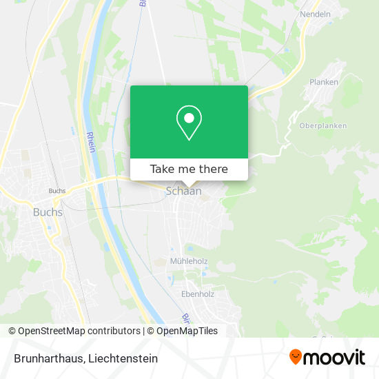 Brunharthaus map