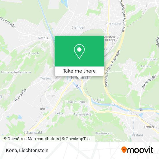Kona map