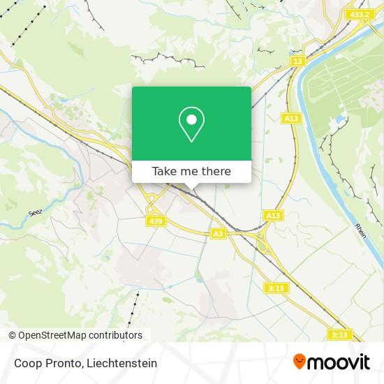 Coop Pronto map