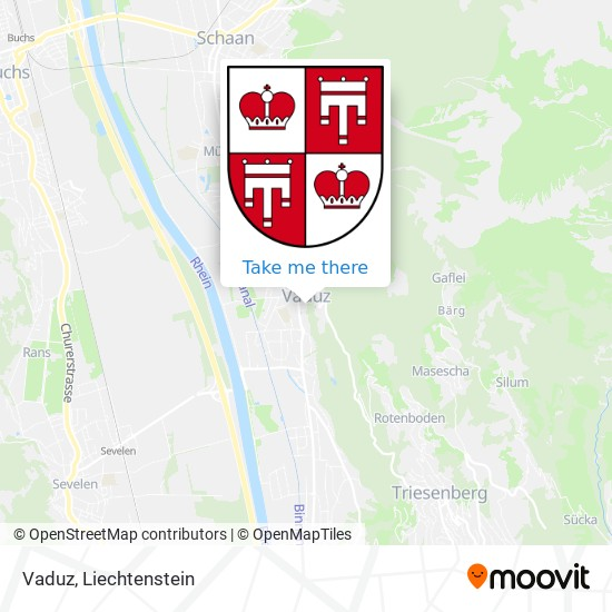 Vaduz map