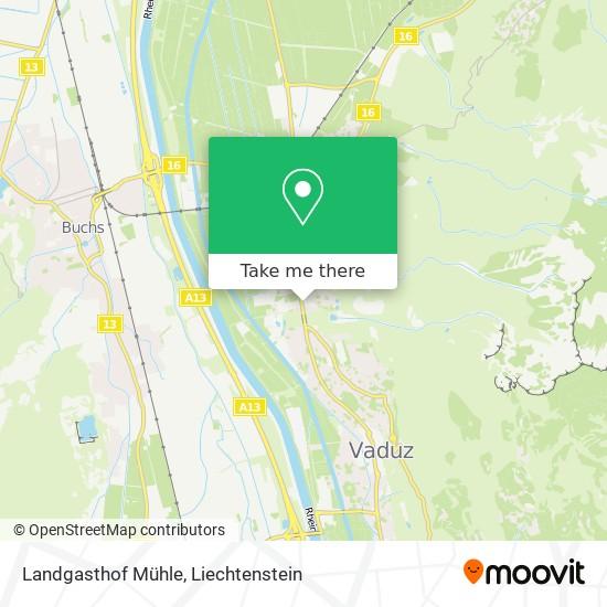 Landgasthof Mühle map