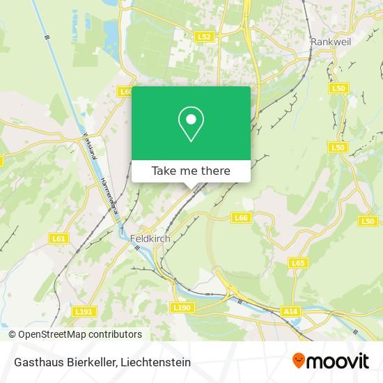 Gasthaus Bierkeller map