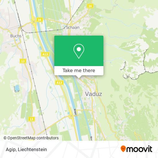 Agip map