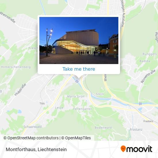 Montforthaus map
