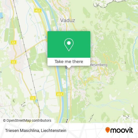 Triesen Maschlina map