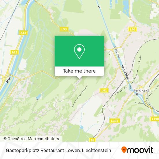 Gästeparkplatz Restaurant Löwen map