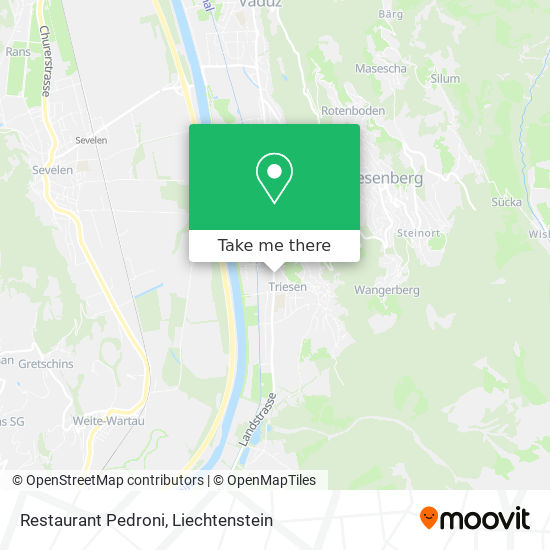 Cafe Frommelt map