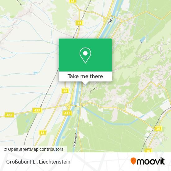 Großabünt.Li map
