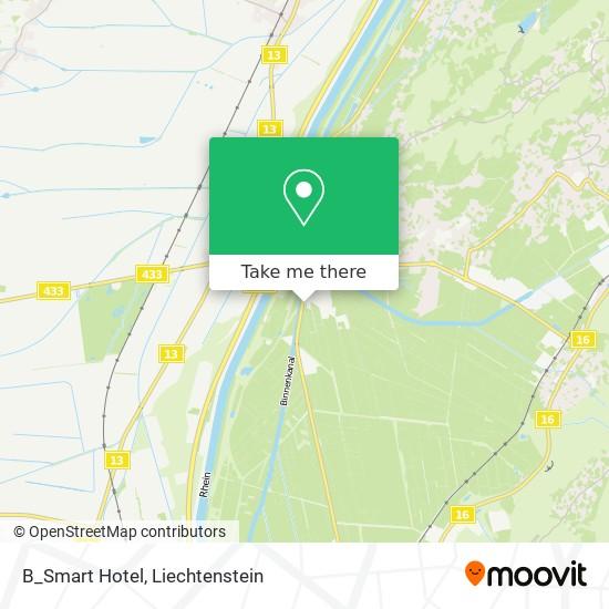 B_Smart Hotel map