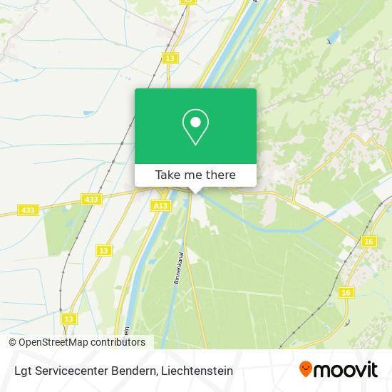 Lgt Servicecenter Bendern map