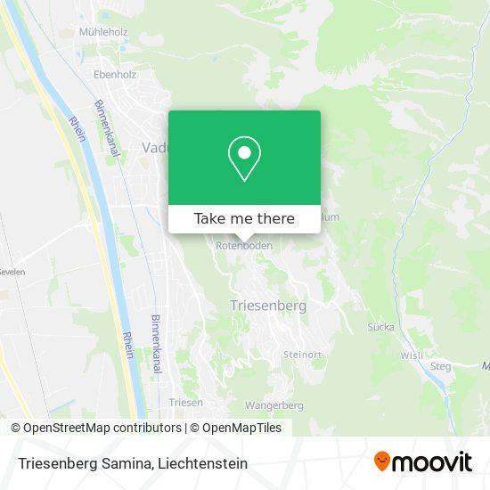 Samina map