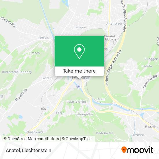Anatol map