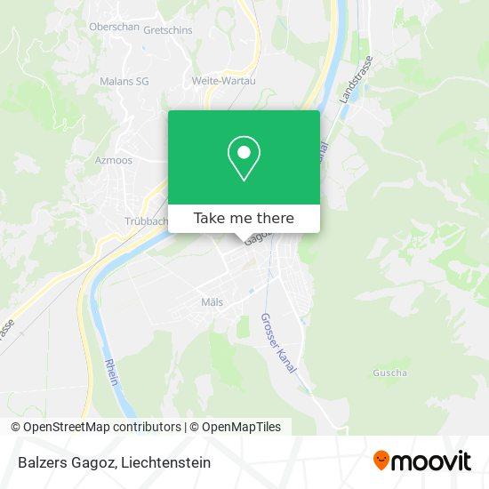 Gagoz map