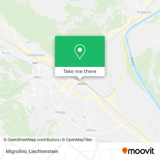Migrolino map