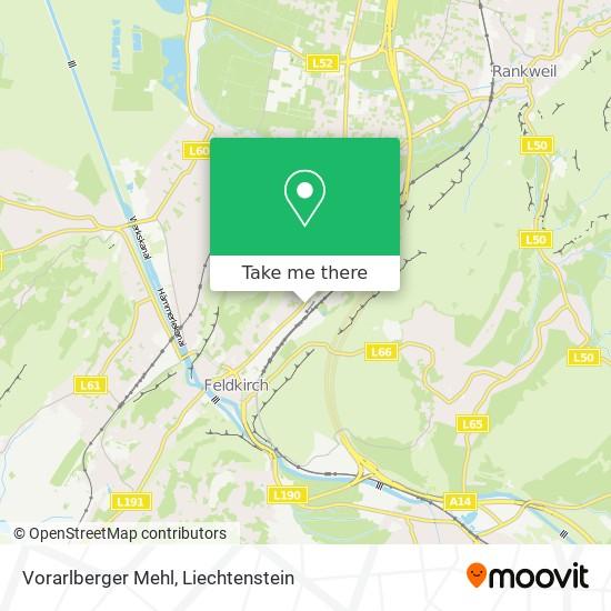 Vorarlberger Mehl map