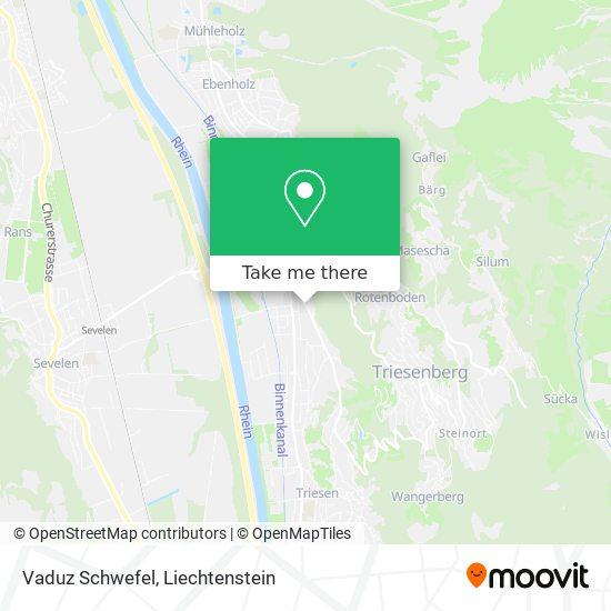 Vaduz Schwefel map