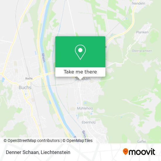 Denner Schaan map