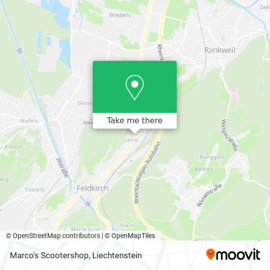 Marco's Scootershop map