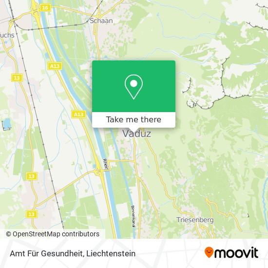 Amt Für Gesundheit map