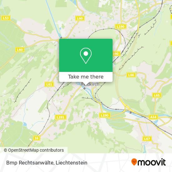 Bmp Rechtsanwälte map