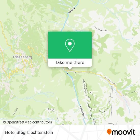 Hotel Steg map