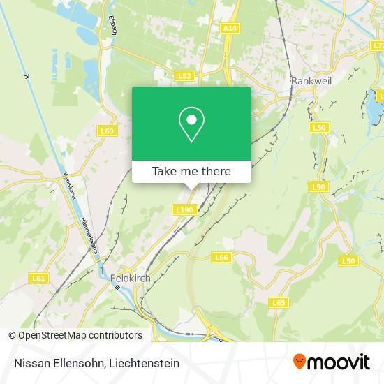 Nissan Ellensohn map