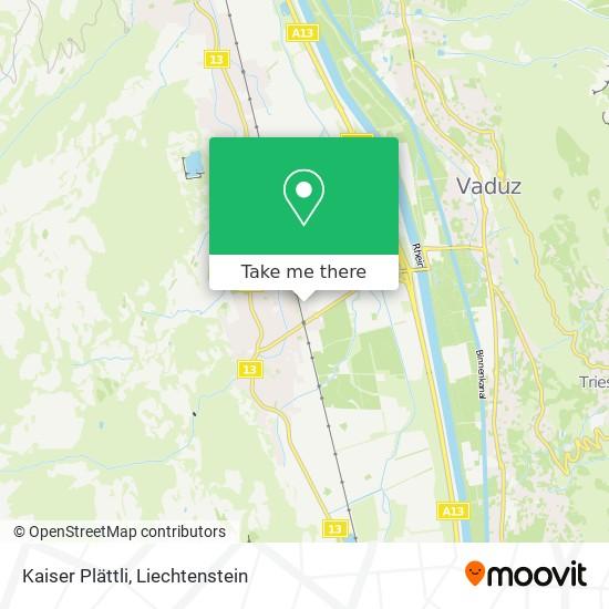 Kaiser Plättli map