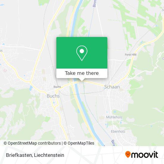 Briefkasten map