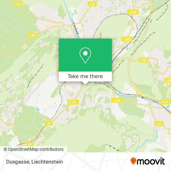 Duxgasse map