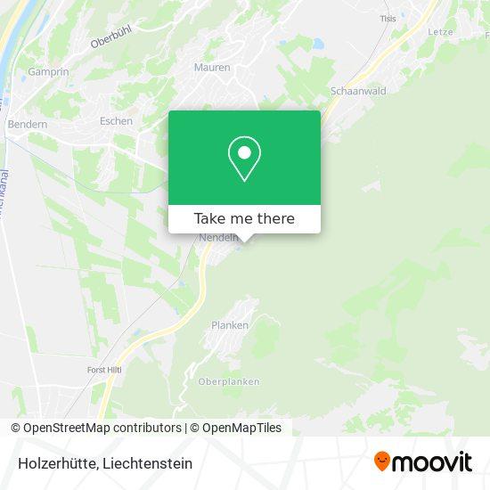Holzerhütte map