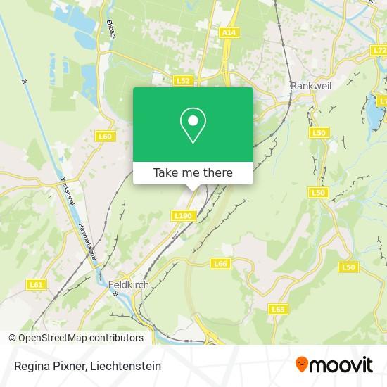 Regina Pixner map