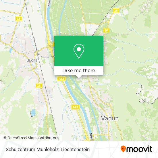 Schulzentrum Mühleholz map