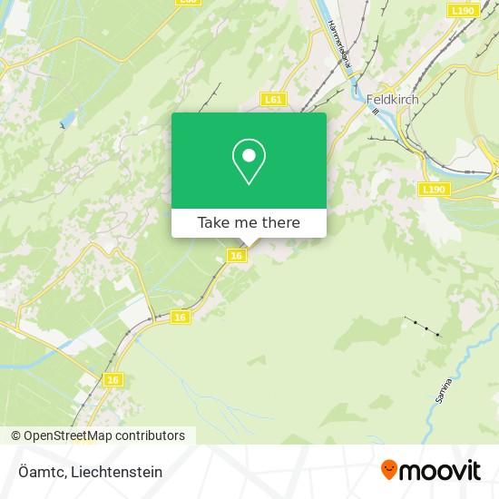 Öamtc map