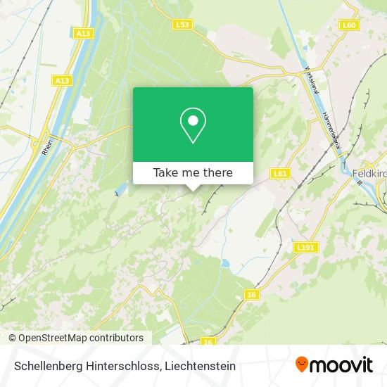 Schellenberg Hinterschloss map