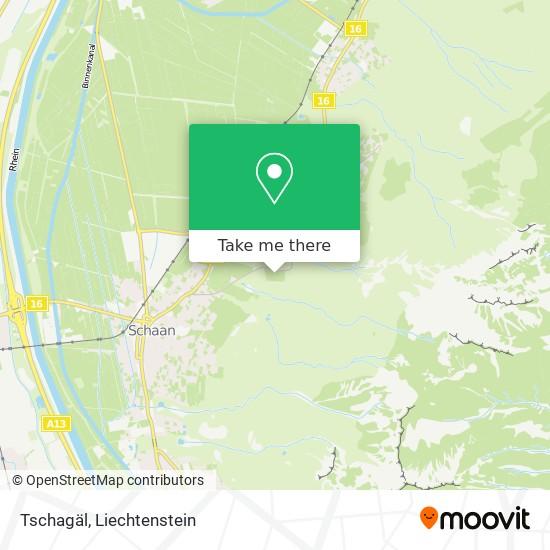 Tschagäl map