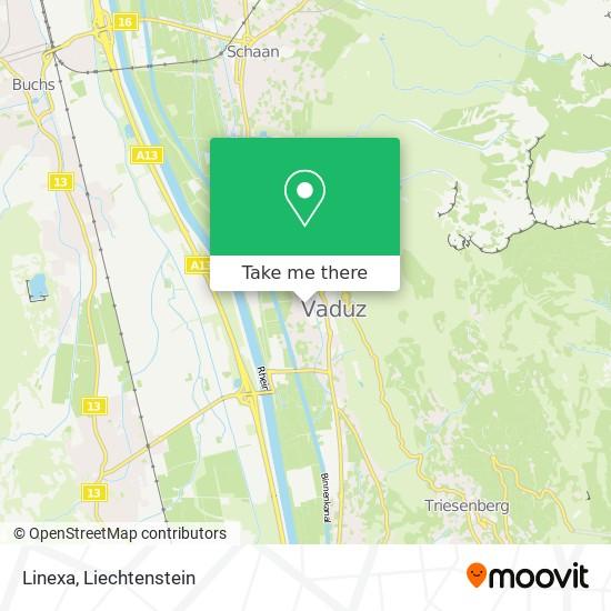 Linexa map