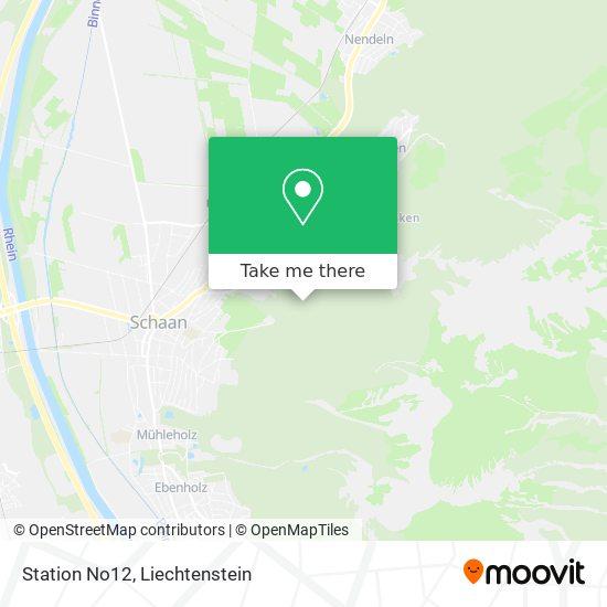 Station No12 map