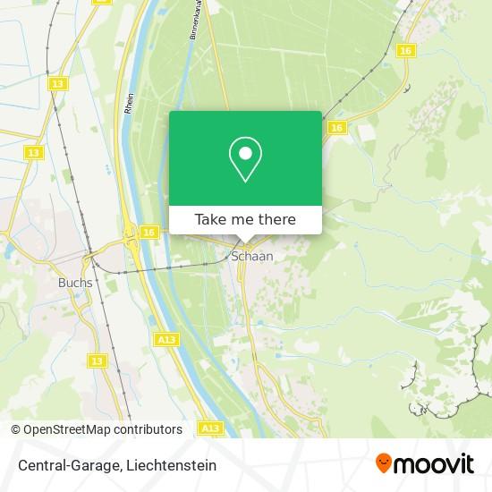 Central-Garage map