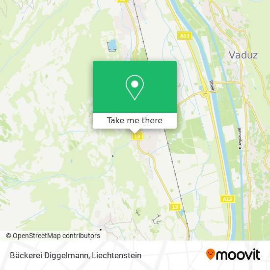 Bäckerei Diggelmann map