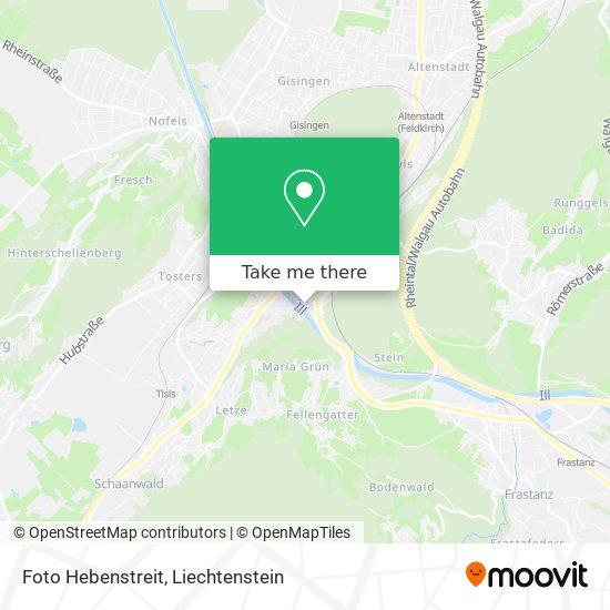 Foto Hebenstreit map