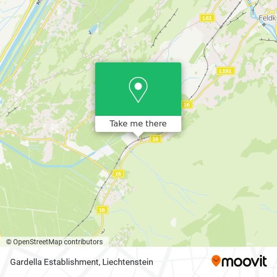 Gardella Establishment map