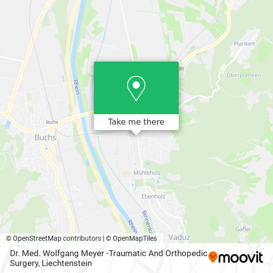 Dr. Med. Wolfgang Meyer -Traumatic And Orthopedic Surgery map