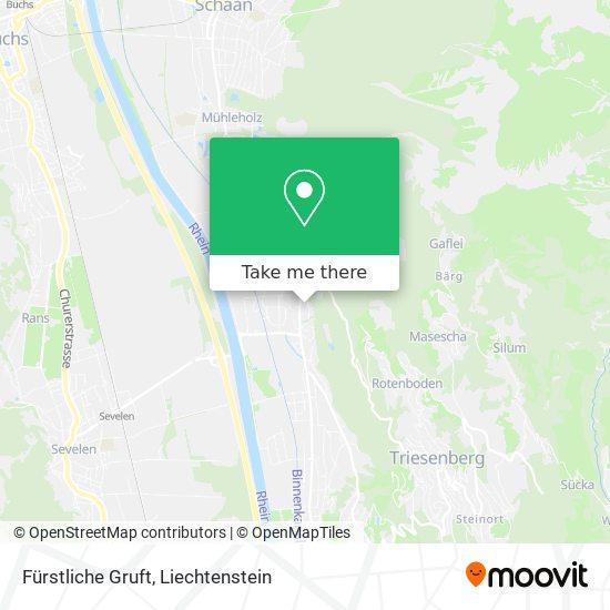 Fürstliche Gruft map