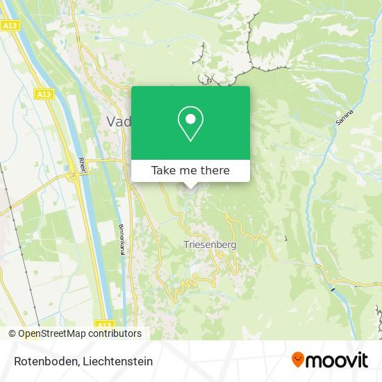Rotenboden map