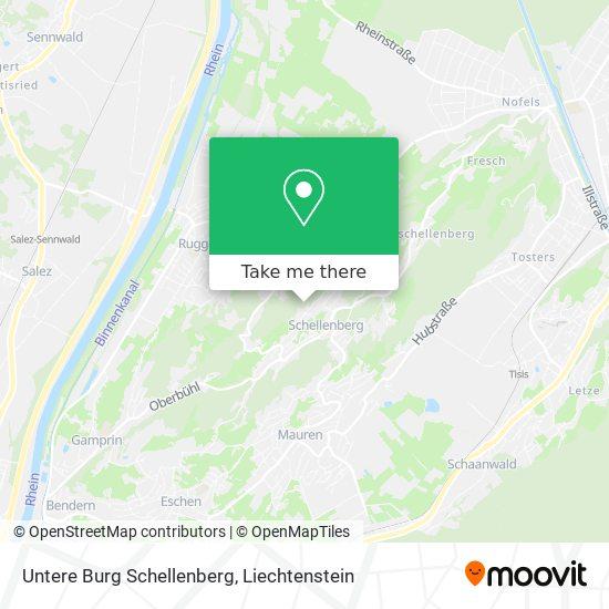 Untere Burg Schellenberg map