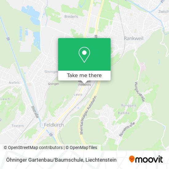 Öhninger Gartenbau/Baumschule map