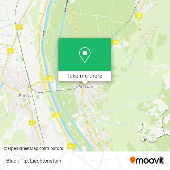 Black Tip map