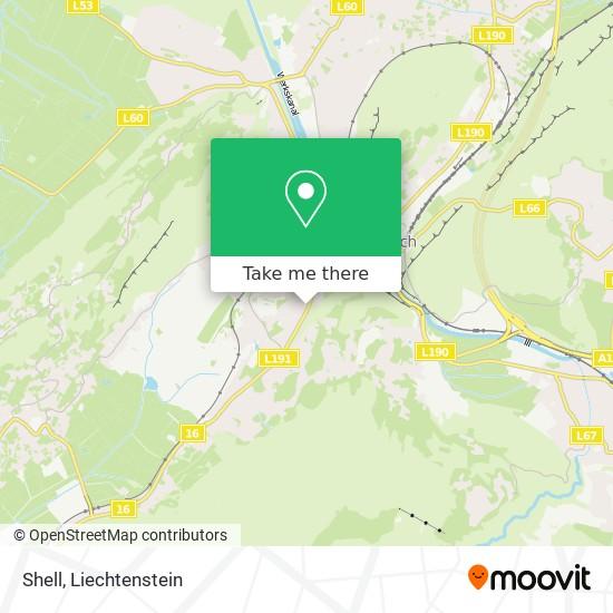 Shell map